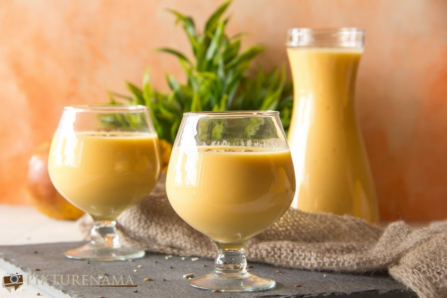 Bael Panna / wood apple smoothie - 4
