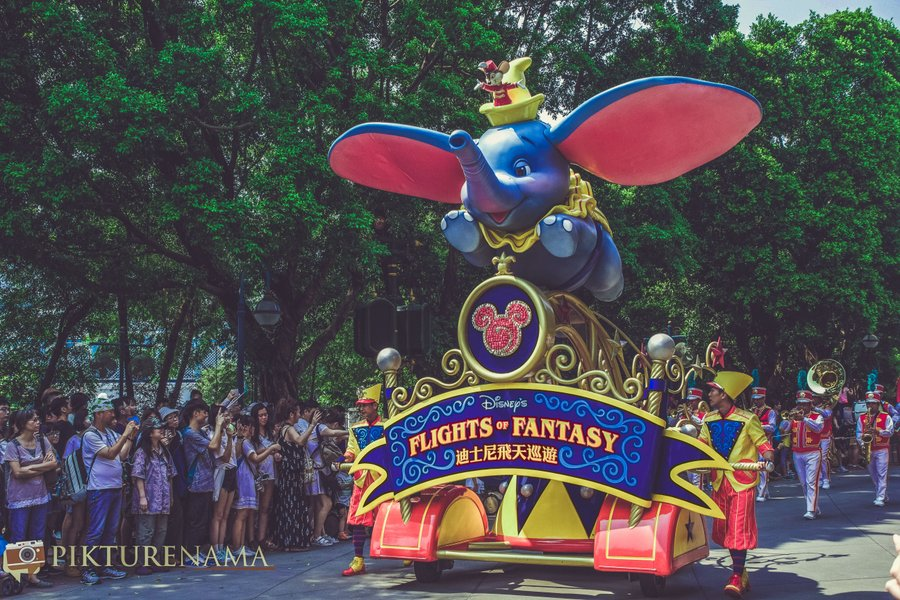 Flighst of Fantassy in Hong Kong DIsneyland - 2