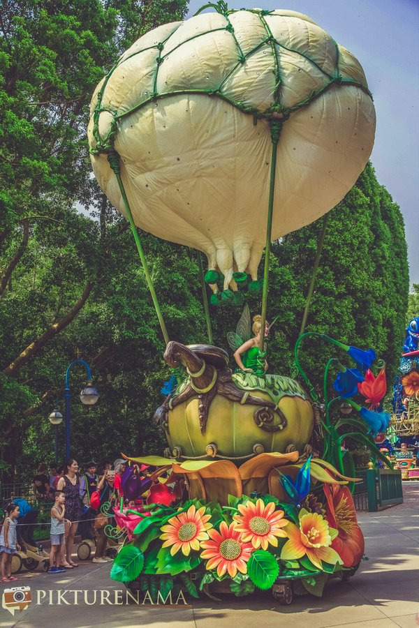 Flights of Fantasy in Hong Kong DIsneyland