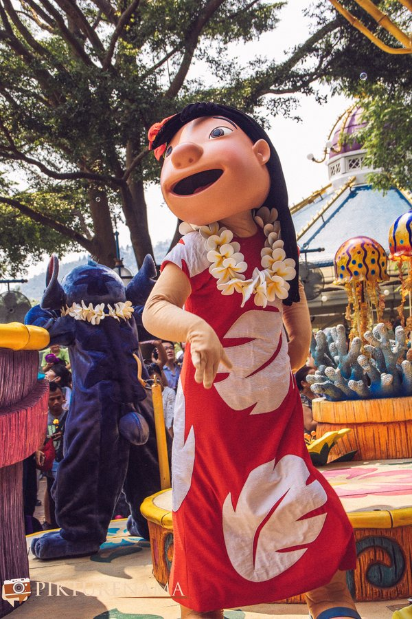 Flights of Fantasy in Hong Kong DIsneyland Moana 1
