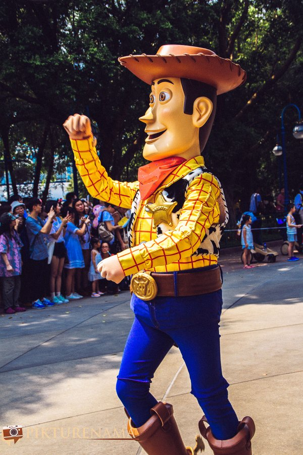 Flights of Fantasy in Hong Kong DIsneyland Woody