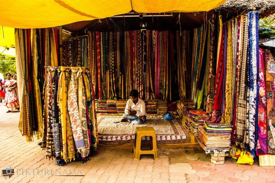 shilparamam Hyderabad chattisgarh tusser silk