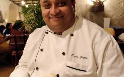 When I surrendered myself to Sujoy Gupta, Executive chef of Taj Bengal Kolkata