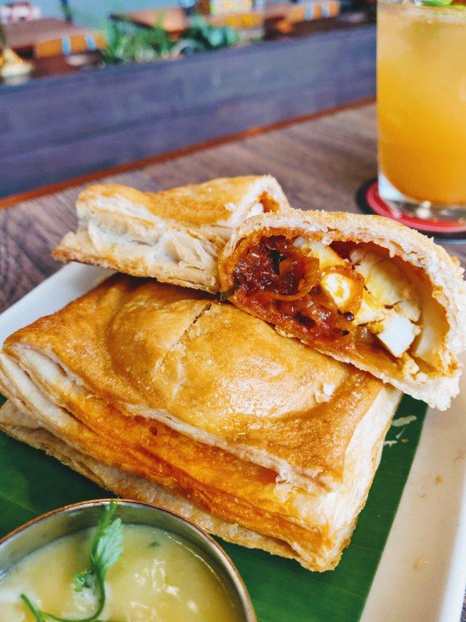 Monkey Bar Kolkata New Menu Mutta Puff