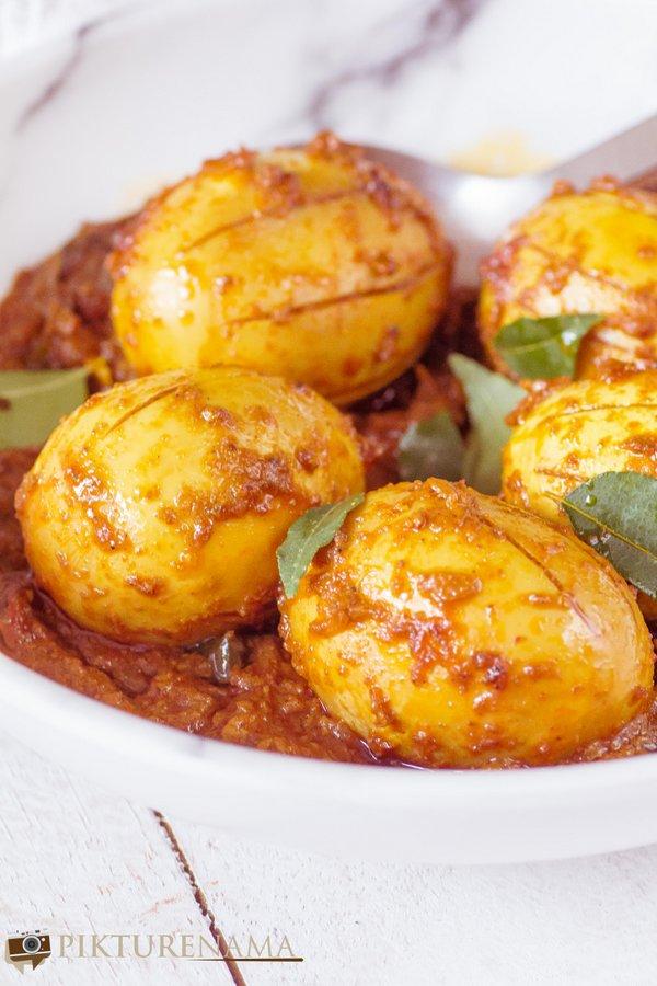 Kerala Egg Roast - 4