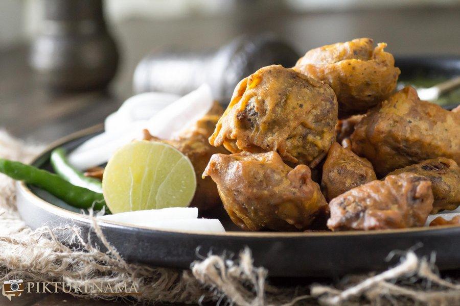 Spicy Mutton Pakoda - 1