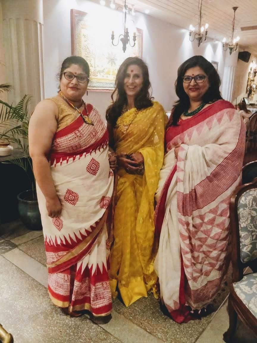With Ms. Shobhaa De