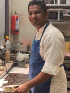 Executive Chef Rajan Mhatre