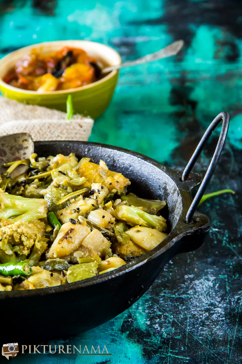 Labra bengali Style mixed fried vegetable -1