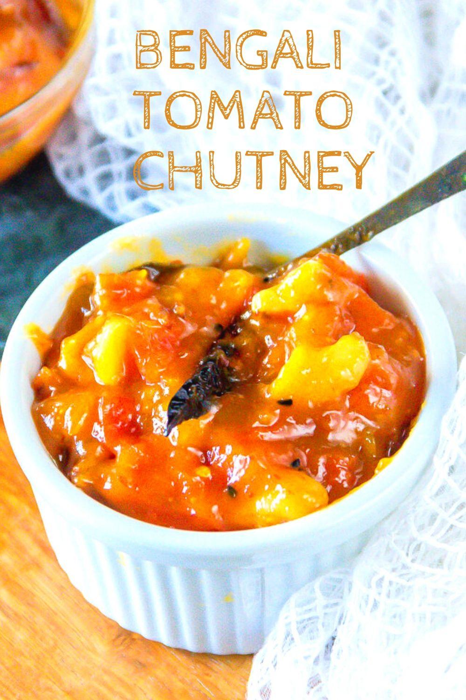 Bengali tomato chutney - 2