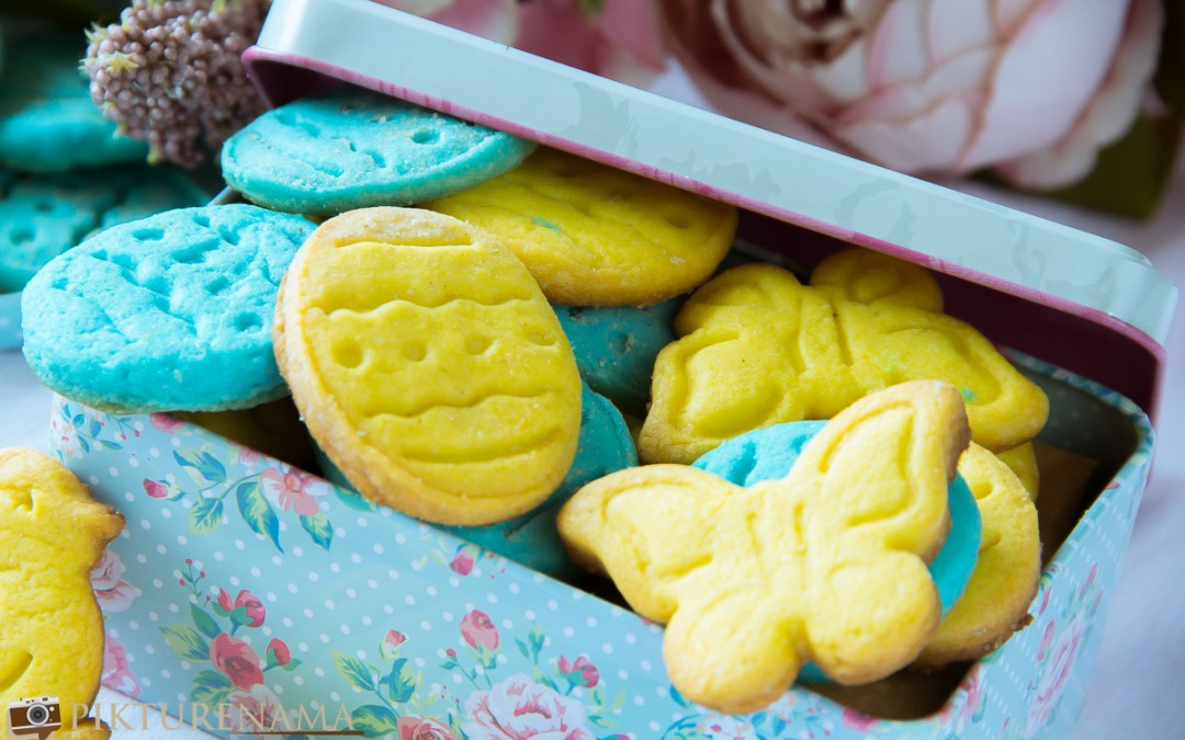 Easter Egg Cookies | Vanilla Sugar Cookies