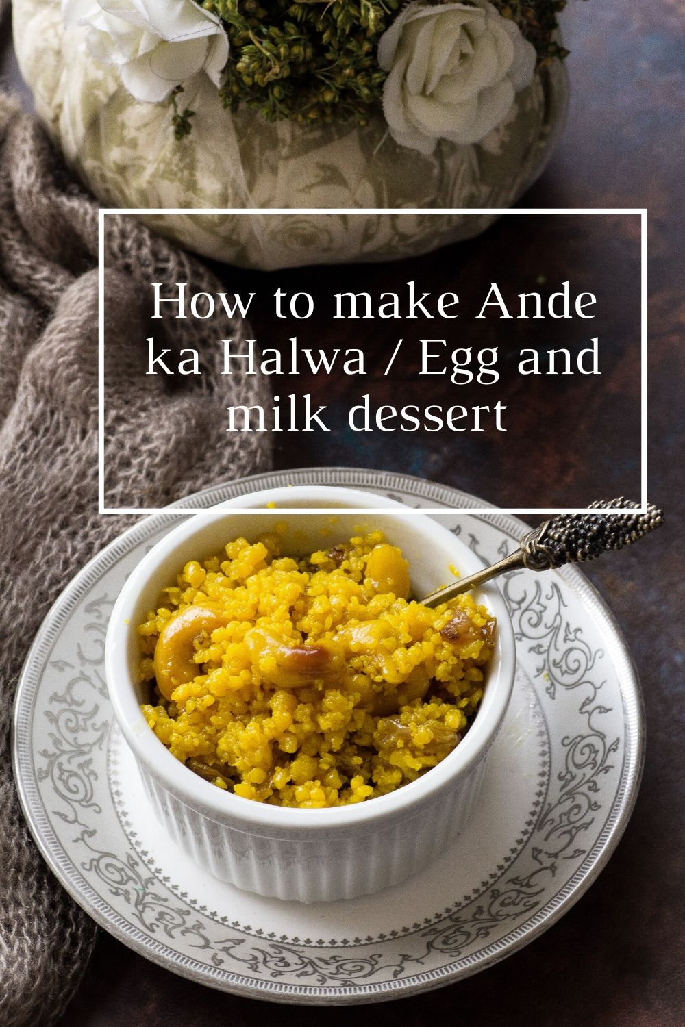 How to make Ande ka Halwa - 5