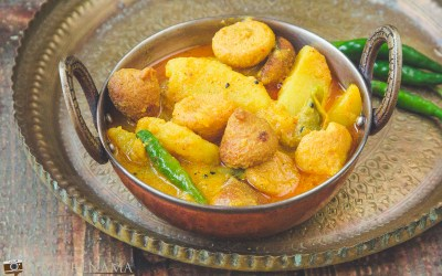 Aloo Bori Jhal on Indian Food Observance day