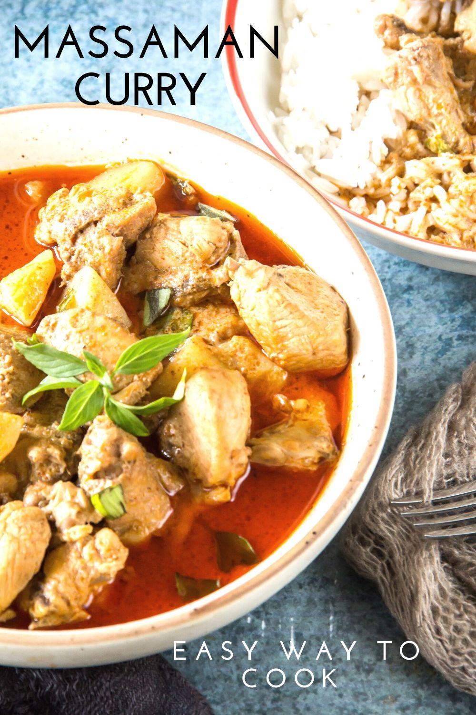 Chicken Massaman Curry Pinterest
