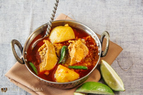 Bangali Robibarer Murgir Jhol or Sunday Bengali CHicken Curry - 2