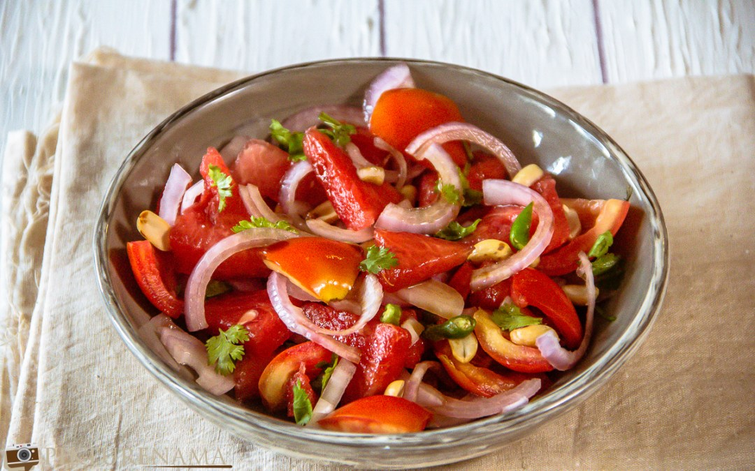 Spicy Watermelon Salad | A Perfect Summer Salad