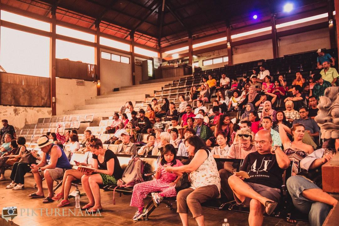 Kecak dance at Batubulan - 1 Audience