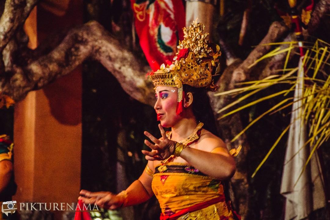 Kecak dance at Batubulan - 1 Sita