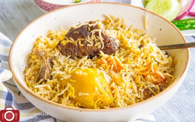 Biryani in Kolkata cloud