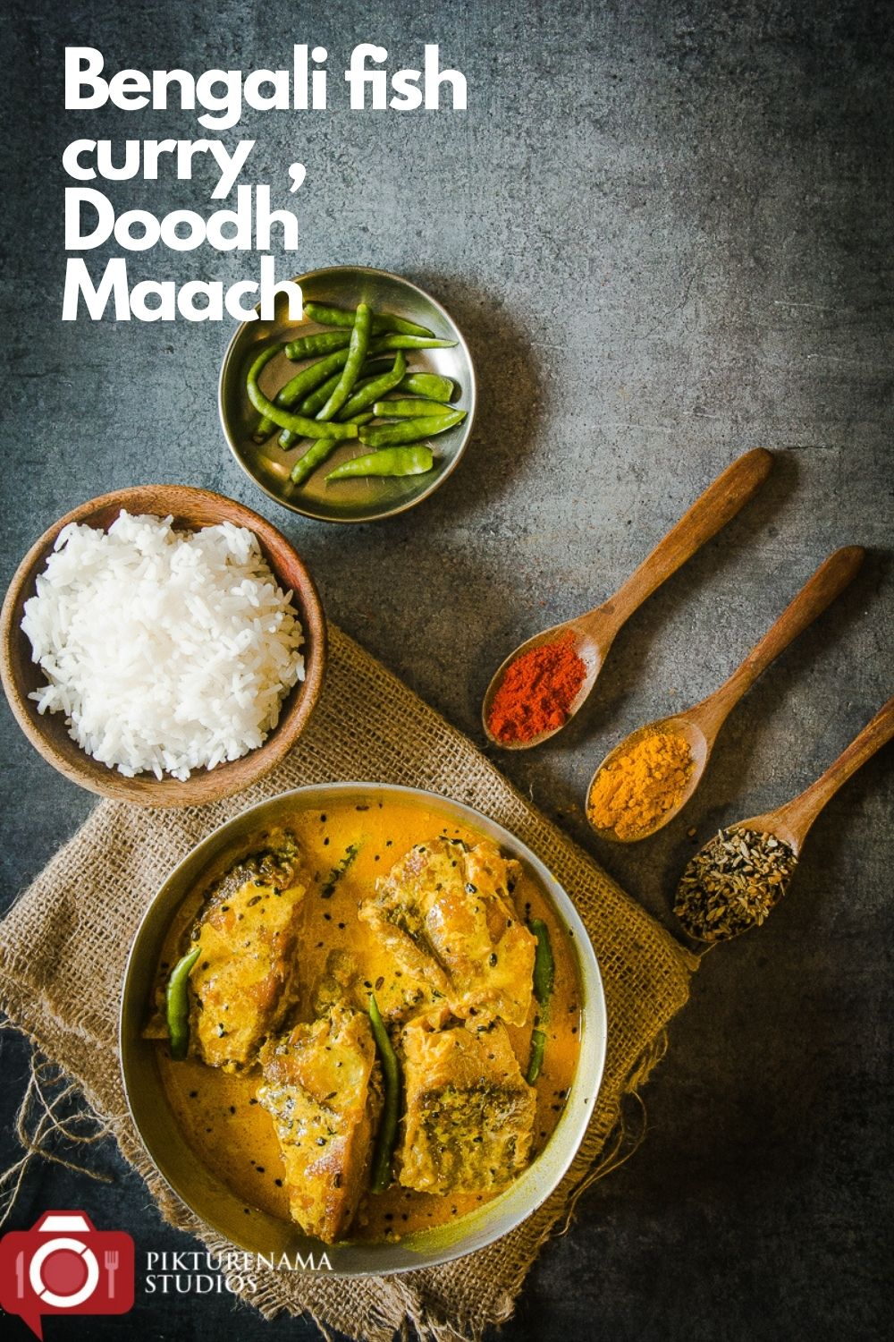 Doodh Maach for pinterest