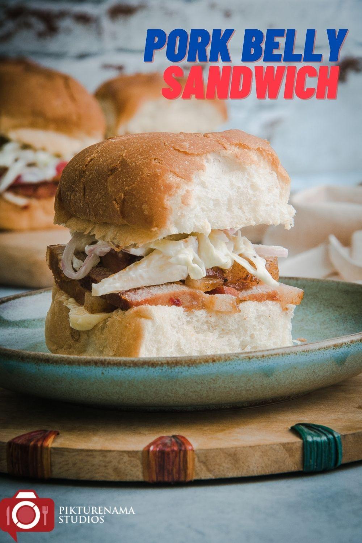 Pork belly Sandwich - Pinterest