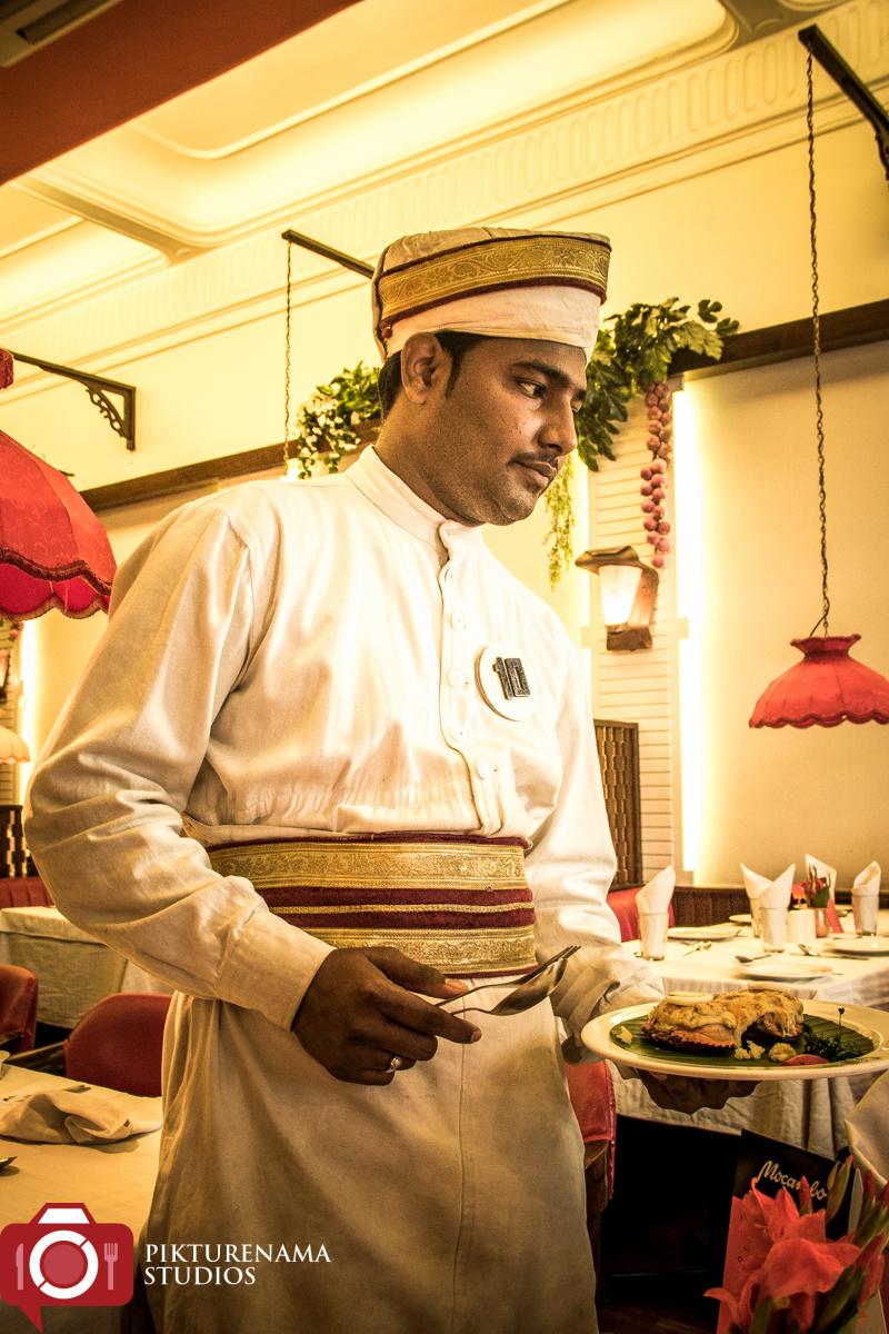 MOcambo Kolkata waiter