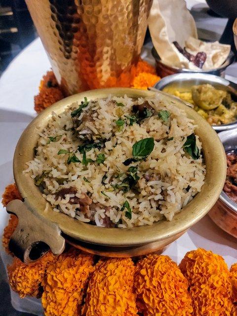 Konaseema Biryani by Chef Praveen Anand with Circar Ruchulu at ITC Royal