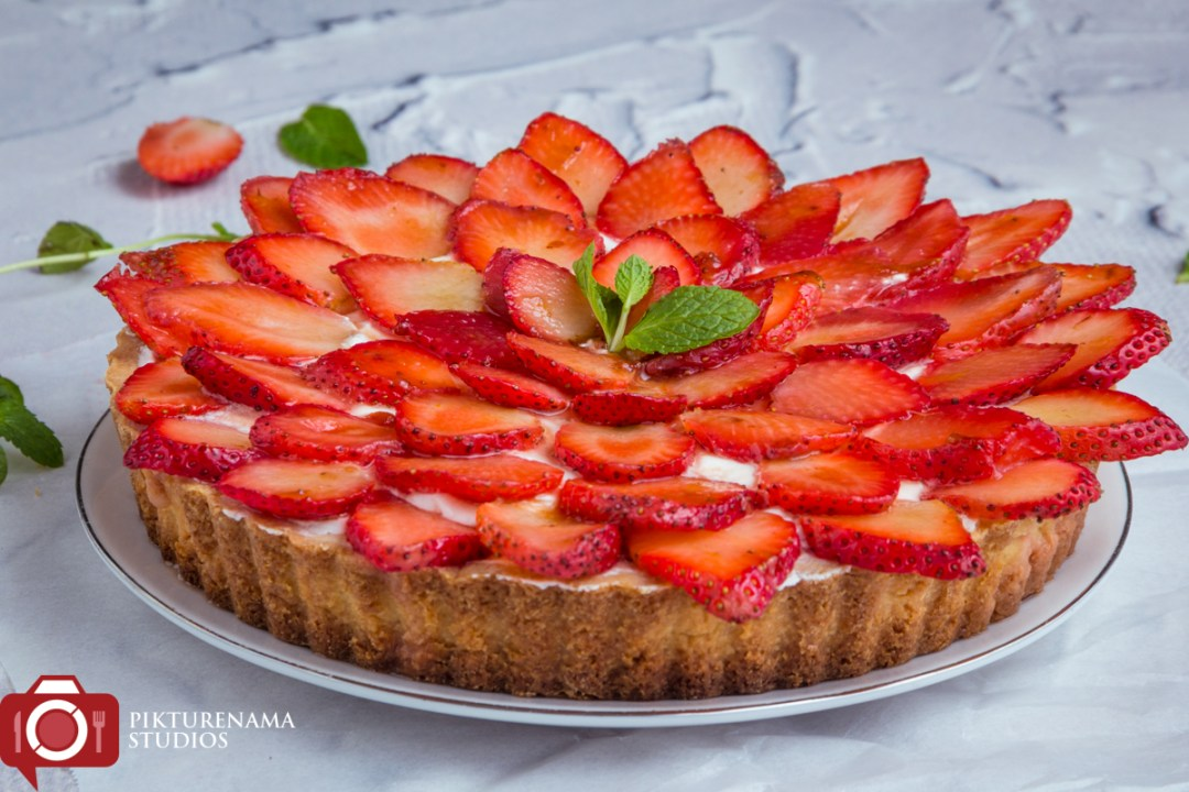 How to make Strawberry Tart - 3