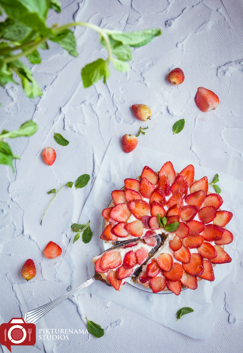 How to make Strawberry Tart easiest way 1