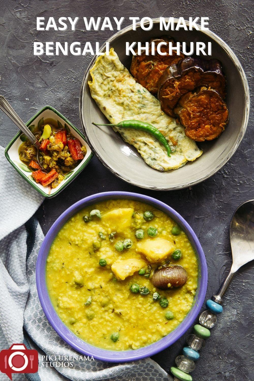 Easy to make bengali Khichudi at home for Pinterest - 1