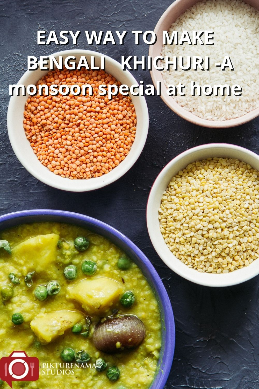 Easy to make bengali Khichudi at home for Pinterest- 2