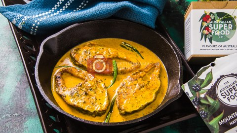 How to cook Bengali food with Native Australian Ingredients - 3