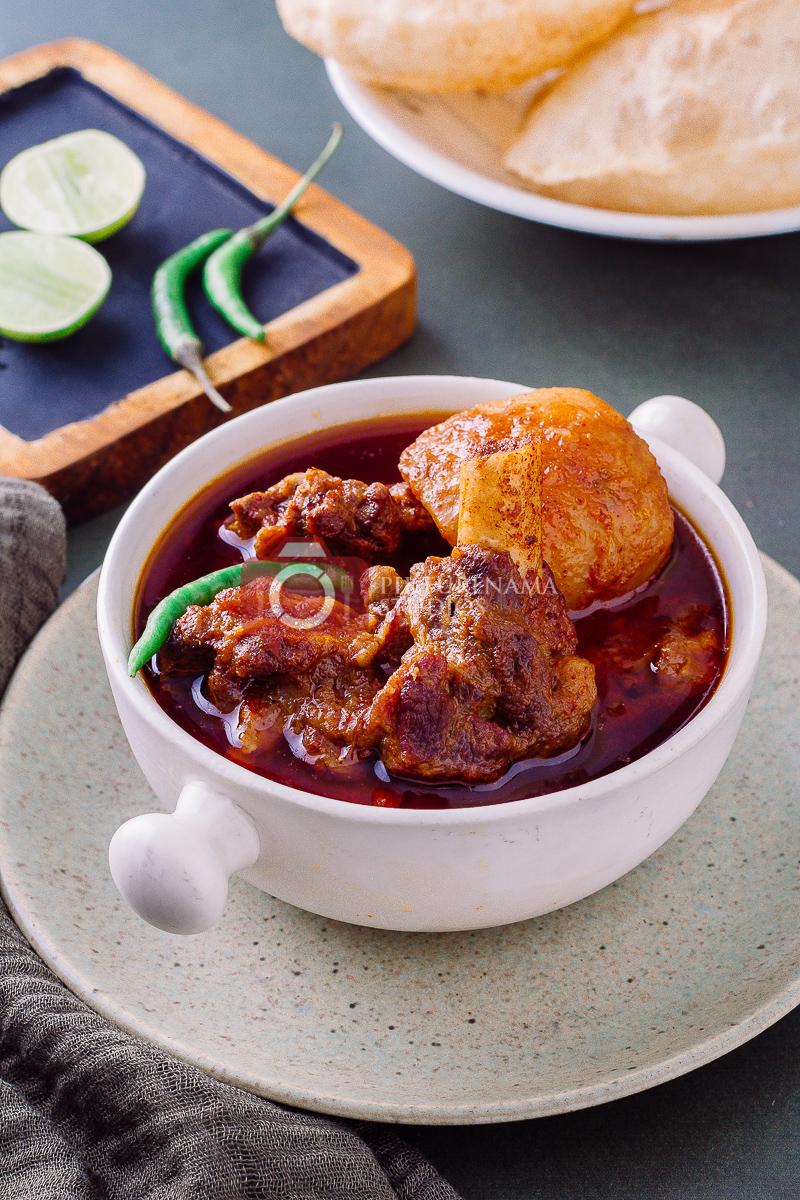 How to make bengali Mangshor Jhol at home - 3
