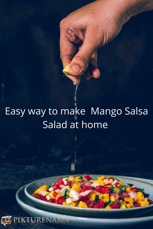 Mango Salsa Salad for Pinterest - 1