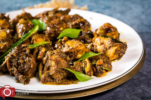 How to make Andhra Pepper Chicken - 2