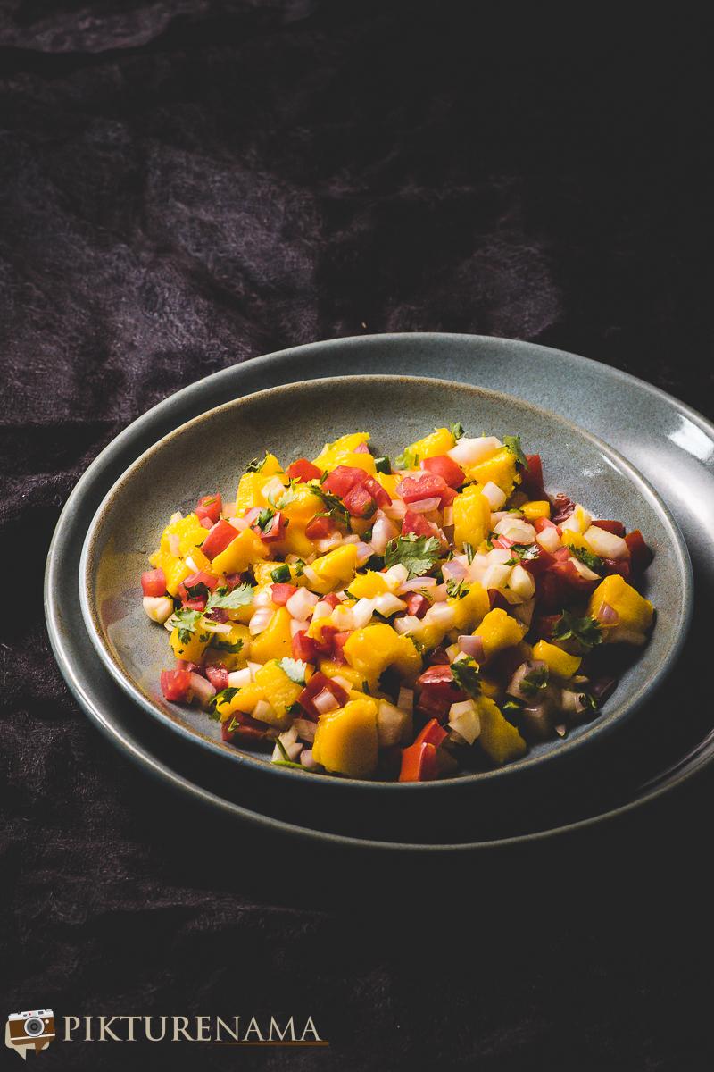 how to make Mango Salsa - 1