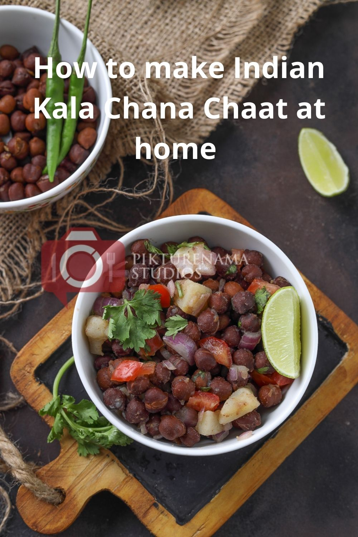 Pin for Kal Chana Chaat