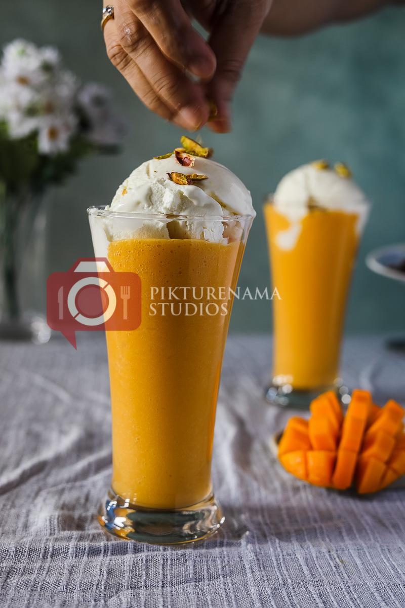 Preparation of Mango Mastani - 3