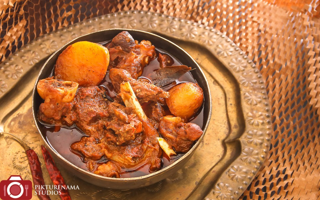Niramish Mangsho and Those Delicious Letters