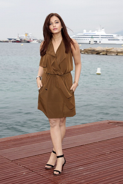 Aishwarya Rai, Madhur Bhandarkar and Ronnie Screwvala Photocall - 64th Annual Cannes Film Festival