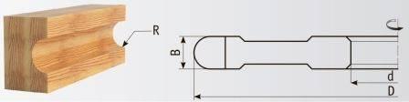 02-101 Фрезы для обработки галтелей