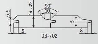 03-702 Комплект фрез 130*32 мм для вагонки