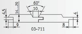 03-711 Комплект фрез 160*40 мм для вагонки