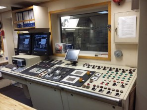 The control room that run and monitor each and every component inside the engine room.
