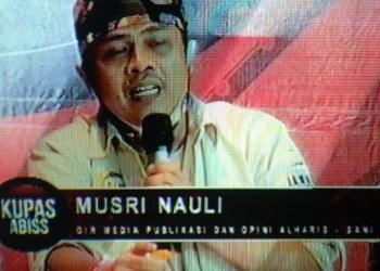 Musri Nauli, Advokat dan Direktur Media Publikasi Al Haris-Abdullah Sani