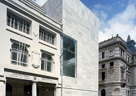 Biblioteca Foral de Bizkaia (Bilbao). Estudio de arquitectos IMB