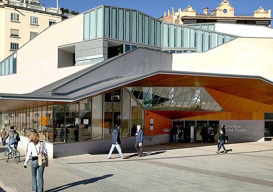 Biblioteca Jaume Fuster en Barcelona