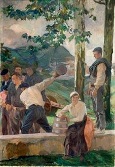 Guipúzcoa, los bolos, 1914
