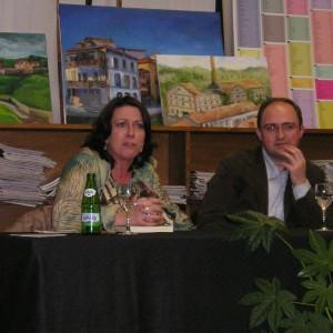 Con Toni Solar, alcalde, en Pravia