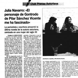 La Nueva España, 12/11/2005